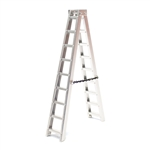 "Racers Edge 1/10 Scale Miniature Aluminum Step Ladder 6"" (150mm)"