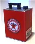 RC Mayhem Garage 2.5 gal Gas Can - Texaco