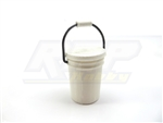 RC Mayhem Garage 1/10 Scale 5 Gal Bucket W/ Pop-on Lid White