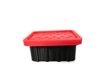 RC Mayhem Garage 1/10 Scale Storage Tote Red
