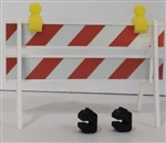 RC Mayhem Garage 1/10 Scale Reflective Barricade
