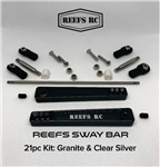 Reef's RC Sway Bar Kit Dark Grey Anodized