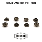 Reef's RC Servo Washers 8pk- Gray