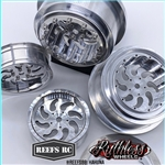 Reef's RC Kahuna Beadlock Drag Wheels with Rings and Hardware (4 pcs)
