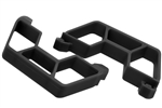 RPM Black Nerf Bars Traxxas LCG Slash 2WD