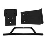 RPM Front Bumper / Skid Plate, Black: SLH 4x4