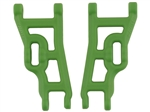 RPM Green Front A-arms for the Electric 2wd Stampede & Rustler