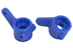 RPM Front Bearing Carriers Rustler / Stampede / Slash 2wd / Bandit Blue