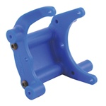 RPM Bumper/Wheelie Bar Mount for Traxxas Slash/Rustler/Stampede/Bandit, Blue