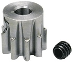 "Robinson Racing 1/8"" Shaft Pinion Gear 32P 9T"