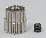 "Robinson Racing 15T 48P 1/8"" Shaft Pinion Gear"