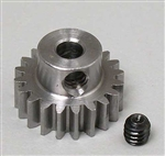 "Robinson Racing Metric 1/8"" Shaft Pinion Gear 20T Mod 0.6"