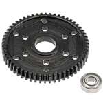 Robinson Racing Steel Spur Gear 32P 56T Axial Dual Disc Slipper SCX10