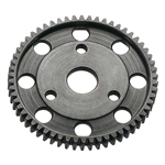 Robinson Racing 32P Blackened Steel Spur Gear (58T) Axial 3 Bolt Slipper
