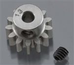 "Robinson Racing Hardened 1/8"" Shaft Pinion Gear 32P 13T"