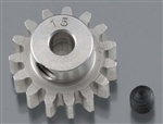 "Robinson Racing Hardened 1/8"" Shaft Pinion Gear 32P 15T"