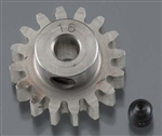 "Robinson Racing Hardened 1/8"" Shaft Pinion Gear 32P 16T"