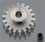 "Robinson Racing Hardened 1/8"" Shaft Pinion Gear 32P 18T"