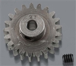 "Robinson Racing Hardened 1/8"" Shaft Pinion Gear 32P 21T"