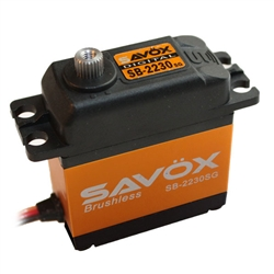 Savox SB-2230SG High Voltage Monster Torque Brushless Tall Steel Gear Digital