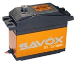 Savox SV-0235MG High Voltage 5th Scale Servo 0.15/486 @7,4V