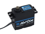 Savox SW-1211SG Waterproof Coreless Steel Gear Digital Servo - Black Edition