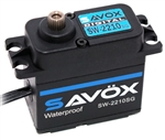 Savox SW-2210SG Waterproof High Torque High Voltage Brushless Digital Servo - Black Edition