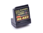 Sanwa Airtronics RX-482 2.4GHz 4-Channel FHSS-4 SSL Telemetry Receiver
