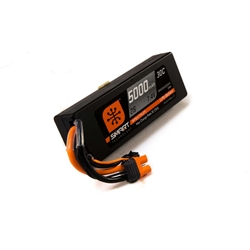 Spektrum 5000mAh 2S 7.4V 30C Smart Hardcase LiPo Battery - IC3