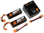 Spektrum Smart PowerStage Bundle 4S (2x 2S) LiPo IC5