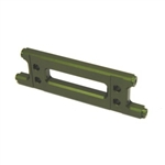 STRC CNC Machined Aluminum HD Rear Cage Stiffener (Green) Yeti