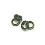 STRC CNC Machined Aluminum Shock Collar (w/O-rings) 4 pcs (Green) Yeti Wraith