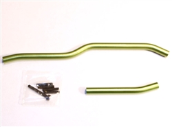 STRC ALUMINUM HD STEERING LINK SET FOR AXIAL WRAITH (GREEN)