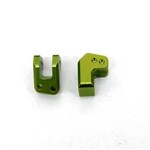 STRC Aluminum HD REAR LOWER SHOCK MOUNTS FOR EXO BUGGY (GREEN)