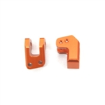 STRC Aluminum HD REAR LOWER SHOCK MOUNTS FOR EXO BUGGY (ORANGE)