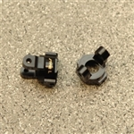 STRC Brass Front C-hub Carriers (1 Pair) Venture (Black)
