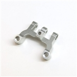 STRC CNC Machined Alum. Front Upper Link Mount (Silver)