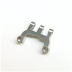 STRC CNC Machined Alum. Rear Upper Link Mount (Silver)