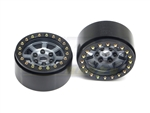 "SSD RC 1.9"" Assassin Beadlock Wheels (Grey) (2)"