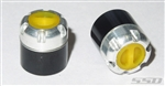 SSD RC Scale Locking Hubs (Yellow)
