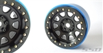 "SSD RC 2.2"" D Hole PL Beadlock Wheels (Black) (2)"