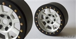 "SSD RC 2.2"" Assassin Wide Beadlock Wheels (Silver) (2)"