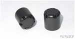 SSD RC Scale Rear Hubs (Black)