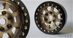 "SSD RC 1.9"" Assassin Beadlock Wheels (Bronze) (2)"