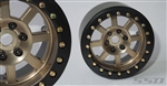 "SSD RC 2.2"" Assassin Wide Beadlock Wheels (Bronze) (2)"