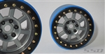 "SSD RC 2.2"" Assassin Wide PL Beadlock Wheels (Grey) (2)"