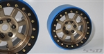 "SSD RC 2.2"" Assassin Wide PL Beadlock Wheels (Bronze) (2)"