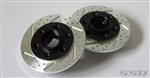 SSD RC 3mm Offset Wheel Hub with Brake Rotor