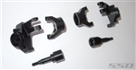 SSD RC Front Axle Portal Delete Kit for TRX-4