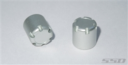 SSD RC Scale Front / Rear Hubs (Silver)